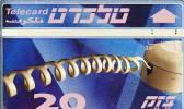 TELECARTES - ISRAEL  - Israël 140 20 Unités Nécessaire Telecard - Israel