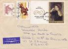 MARCOPHILIE,LETTRE,POLOGNE,POLAND,POLSKA,POCZTA,POSTAMP,5 TIMBRES,CAD WARSZAWA,VARSOVIE,1969,POUR  FRANCE,st Etienne