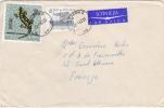 MARCOPHILIE,LETTRE,POLOGNE,POLAND,POLSKA,POCZTA,POSTAMP,3 TIMBRES,CAD KRAKOW,CRACOVIE,1967,POUR  FRANCE,st Etienne