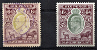 ORANGE RIVER COLONY King Edward VII - 6p Revenue Used And MNH (VF) - South Africa (...-1961)