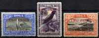 TONGA 1923-4 - Sc.67-69 Part Set (Mi.67-69, Yv.63-65) MH (all VF) - Tonga (...-1970)