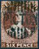 NEW ZEALAND 1864 Wmk NZ Imperf. - Yv.24 (Mi.26B, Sc.29) Used - 1855-1907 Colonia Britannica