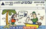 TELECARTES - ISRAEL  -ISRAEL 114 Yediot - Robinson Crusoe No4 20 Landis&gyr 07.96 - Bon Etat - Israel