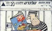TELECARTES - ISRAEL  - ISRAEL 115 Yediot - Prisoner No5 20 Landis&gyr 07.96 - Israel