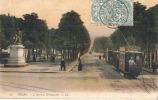 TOURS  L'avenue GRAMMONT - Et Tram - Colorisée LL - Autres Communes