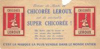 PUBLICITE CHICOREE LEROUX CHEQUE CADEAU - Altri