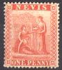 Nevis - 1866 - Y&T N° 9, Neuf Sans Gomme - San Cristóbal Y Nieves - Anguilla (...-1980)