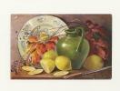 Mary Golay : Vase, Assiette, Citrons Et Branches - Illustrateurs & Photographes