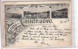 Gruss Castelnuovo Cattaro - Ercegnovi -06.11.1898 -Condiz. Discrete - Montenegro