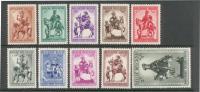 Belgique 583/92 ** - Unused Stamps