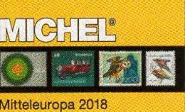 Mittel-Europa 2018 Katalog Band 1 MICHEL New 72€ Europe With Austria Schweiz UN Genf Wien CZ CSR Ungarn FL Slowakei - Kronieken & Jaarboeken