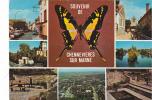 19575 Chennevieres Sur Marnesdivers Aspects Ville. éd Franck 1979 ; Papillon, Multi Vues - Chennevieres Sur Marne