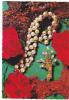 19588 Collier Perle Bijou Rose Corail . Cecami 960 - Mode