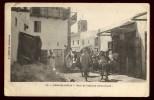 Cpa Du  Maroc  Casablanca  Rue De L' église Catholique     BRA1 - Casablanca
