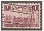 Mz-1803    Ocb  TR 187   OOSTENDE KAAI  /  OSTENDE QUAI 14 - Spoorwegen