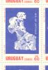 URUGUAY YVERT NR. 1313 DIA DE ARTIGAS AÑO 1989 ESCULTURA  MNH - Uruguay