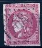 """YT 49 """" Cérès 80c. Rose """"  1870 Losange GC 3941 - 1870 Bordeaux Printing"""