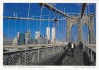 USA - 102109 New York - Spaziergang über Die Brooklyn Bridge - New York City