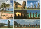 Chile Postcard Isla De Pascua - Easter Island - Rapa Nui - Chile