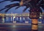 Bari - Notturno Lungomare - 4 - Viaggiata - Bari