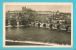 REPUBBLICA CECA PRAGA CARTOLINA FORMATO PICCOLO VIAGGIATA NEL 1936 - Repubblica Ceca