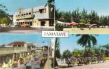 CPSM TAMATAVE (Madagascar) - 4vues : Cinéma Ritz, Rue Amiral Billard.... - Madagaskar