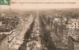 Paris-Avenue Des Champs Elysées, Vue Prise Du Haut De L´Arc De Triomphe  A 29 - Champs-Elysées
