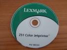 """CD """"Z51 Colo Jetprinter LEXMARK"""" - CD"""