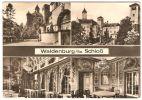 DDR Sachsen, Waldenburg Mehrbildkarte Schloß Klinik Für TBC Gel. 1971, E. Neubert KG, G 8155, A 445 N - Waldenburg (Sachsen)