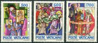 Vatican (1985) N 770 à 772 ** (Luxe) - Vatican