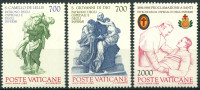 Vatican (1986) N 797 à 799 ** (Luxe) - Vatican