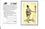 CALENDRIER 1980 LA POSTE TAMPON .RECEVEUR P.T.T. CCP LYON 9302 19 BUSSIERES UNE LETTRE - Tamaño Pequeño : 1971-80