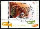 A12-07-7) BRD - Mi 2180 ECKE LIU - Zentrisch OO Gestempelt (C) - 110Pf/56C   Volksmusik - Oblitérés