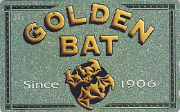 Télécarte Japon - CIGARETTE GOLDEN BAT Chauve Souris - Japan Phonecard - ZIGARETTE Telefonkarte - 35 - Publicité