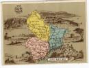 06 ALPES MARITIMES - MONACO NICE ILE STE MARGUERITE GRASSE ANTIBES ST HONORAT  -  ENCART PUBLICITAIRE LIBRAIRIE HACHETTE - France