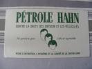 BUVARD...PETROLE HANN CONTRE LA CHUTE DES CHEVEUX....31 X 12 CM - Parfums & Beauté