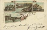 VENEZIA. BELLE IMMAGINI ILLUSTRATE PER LA CARTOLINA- RICORDO DI VENEZIA DI INIZIO '900 - Venezia