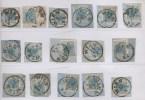 AUSTRIA ÖSTERREICH 1850/1854 LOT 26 PCS 9 KR # 5 SEE SCANS (6026) - 1850-1918 Impero
