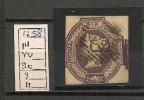 UK - VICTORIA - EMBOSSED ISSUES -  SG 58  CUT SQUARE - 1840-1901 (Victoria)