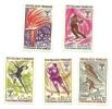 1968 - Francia 1543/47 Olimpiadi Di Grenoble, - Inverno1968: Grenoble