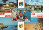 19597 Cote Opale Saint Valéry Sur Somme. Multivues, Enfant Train Golf Plage. Artaud 101 - Saint Valery Sur Somme