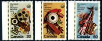 Canada 1976 Montreal Olympic Games X Set Of 3, MNH - Unused Stamps