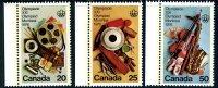Canada 1976 Montreal Olympic Games X Set Of 3, MNH - 1952-.... Reinado De Elizabeth II