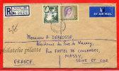 RHODESIE LETTRE RECOMMANDEE DU 21/10/1961 DE BALAWAYO POUR MASSY FRANCE COVER - Rhodesia & Nyasaland (1954-1963)