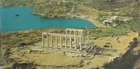 Grèce - Sounion - Le Temple De Poseidon à Vol D´oiseau - Grecia