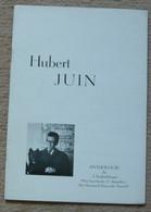 Hubert Juin - Poésie