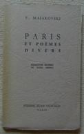 Paris Et Poèmes Divers - Poésie