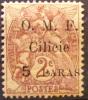1920 Cilicie 5 Paras Sur Blanc 2 Centimes  Surchargé YT 80 Neuf *  Côte Dallay 2,00 € - Zonder Classificatie