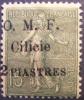1920 Cilicie 2 Piastres Sur Semeuse 15 Centimes  Surchargé YT 84 Neuf *  Côte Dallay 15,00 € 2ème Choix - Zonder Classificatie