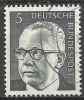 1970 Germania Federale - N. Michel 635 Usato - [7] Repubblica Federale